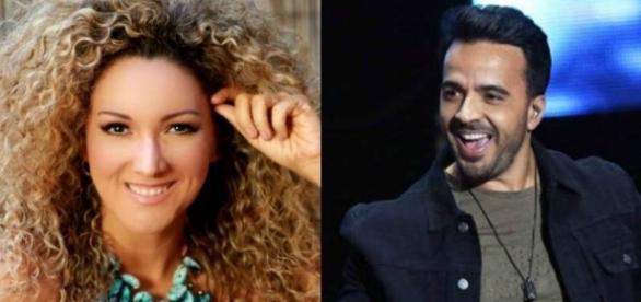 Luis Fonsi e Erika Ender, que é coautora do hit 'Despacito'