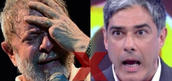Lula ataca William Bonner nas redes sociais - Google