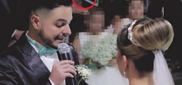 Noivo emociona a todos com declaração feita para enteada durante casamento