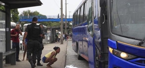 O assalto aconteceu perto da Estação da Leopoldina, no Centro