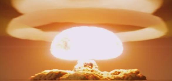 A imagem é de uma bomba atômica. Estaríamos vivendo o fim do mundo? (Foto: Cybernetic Mind - blogspot.com)
