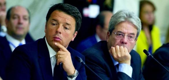 Renzi e Gentiloni: il prossimo e l'attuale premier