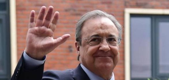 Florentino Pérez presidente reelecto del Real Madrid
