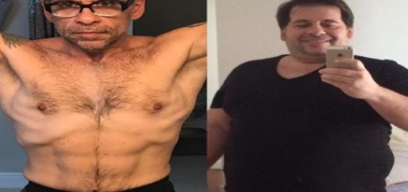 Leandro Hassum mostra o seu antes e depois - Google