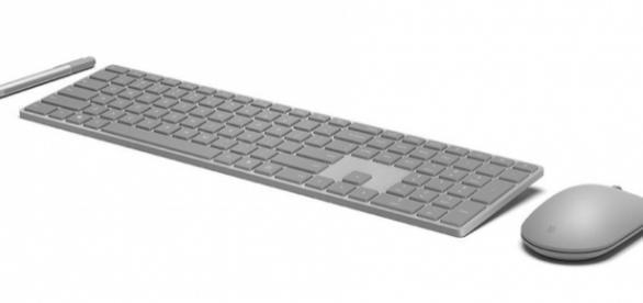Microsoft's slick new keyboard comes with a fingerprint sensor ... - mashable.com