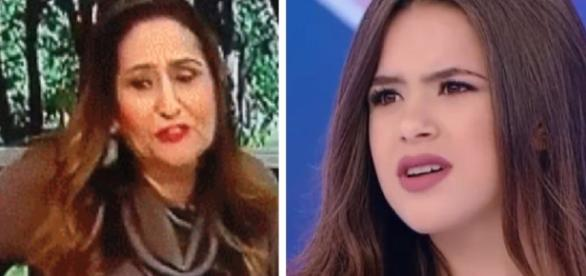 Sônia Abrão critica Maísa - Google
