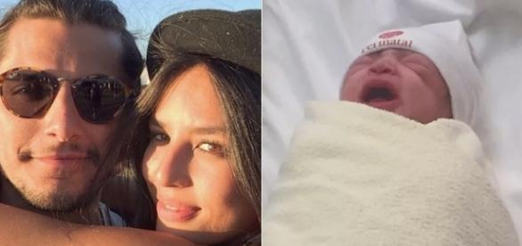 Antes do nascimento da filha, Bruno e Yanna estavam separados