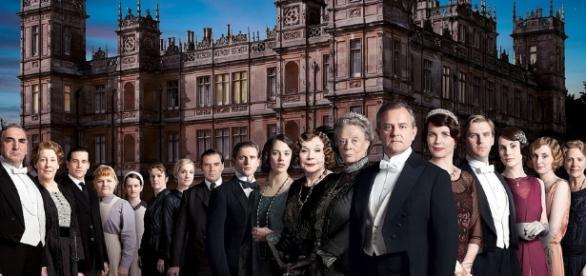 Downton abbey full cast photo -