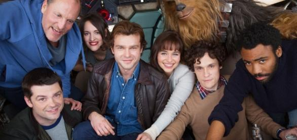 First Star Wars: Han Solo Cast Photo Revealed -. Movie Confirmed for ... - starwarsnewsnet.com