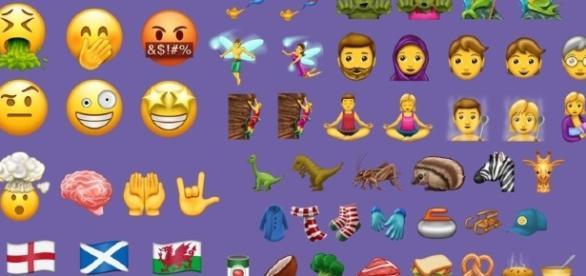 Los nuevos emojis incluyen cabeza explotando, dinosaurios y más.