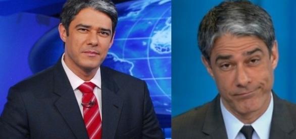 O apresentador parabenizou o telejornal pela mudança (Foto Reprodução - Rede Globo)