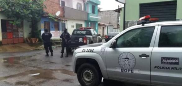 Operação aconteceu em Maceió e em Foz do Iguaçu (Foto: Reprodução / TV Gazeta)