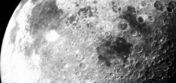 The moon from Apollo 12 (Courtesy NASA)