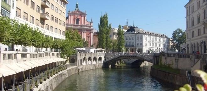 Lublana znaczy 'ukochana' - w stolicy Słowenii