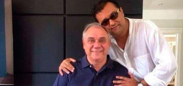Geraldo Luís e Marcelo Rezende se afastam
