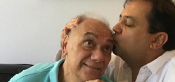 Marcelo Rezende e Geraldo Luís, última foto dos dois juntos publicada nas redes sociais