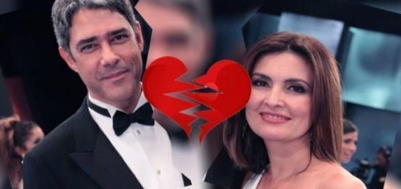 William Bonner e Fátima Bernardes anunciaram divórcio no ano passado (Foto: Reprodução/ Montagem)