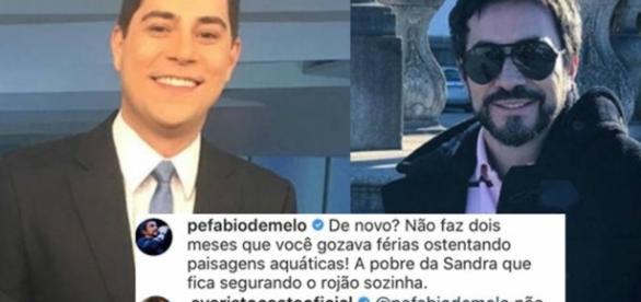 Padre Fabio de Melo zomba Evaristo nas redes sociais