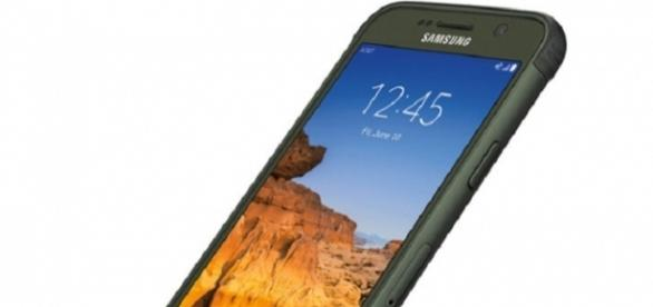 The Galaxy S7 Active's successor listed on Samsung's website/Photo via Samsung