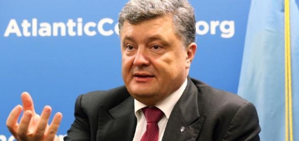 Ukraine president Petro Poroshenko met with US President Donald Trump earlier this week - Flickr/Atlantic Council