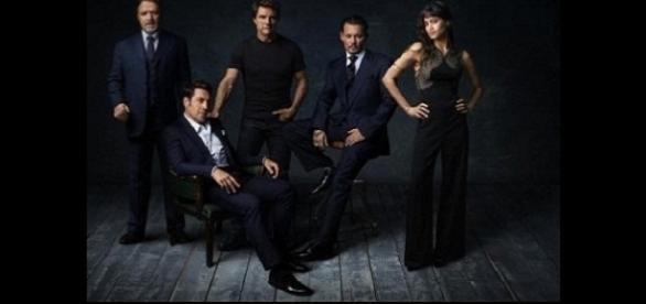 Protagonistas das produções do Dark Universe (Foto: Reprodução)