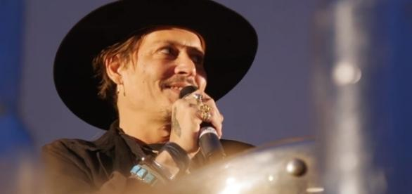 Johnny Depp em Glastonbury Festival