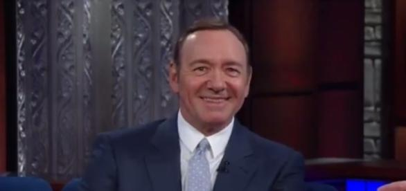 "Kevin Spacey on ""The Late Show,"" via Twitter"