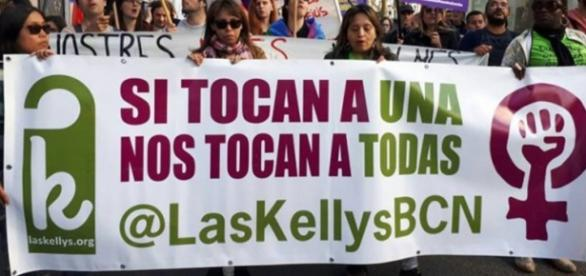 Las Kellys denuncian su precaria situación laboral
