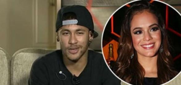 Mais um término na vida do casal Neymar e Bruna (Foto: Reprodução)