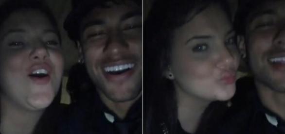 Neymar curte festa com moça após fim do namoro (Foto: Reprodução/Instagram)