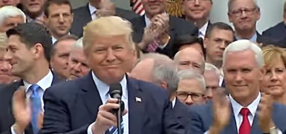 President Trump On Historic House Obamacare Repeal |Image credit: Fox 10 Phoenix | Youtube