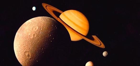 Wikimedia Commons. Saturn in Retrograde