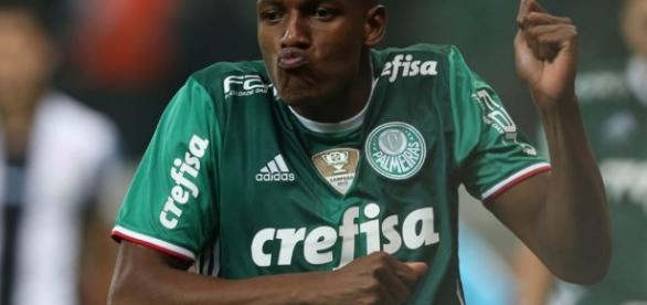 Yerry Mina, zagueiro do Palmeiras (Foto: Reprodução)