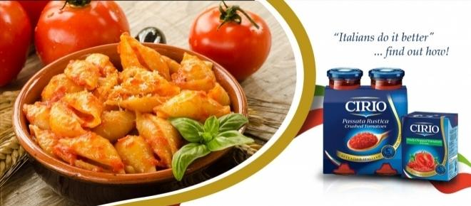 Win a chance to experience a 3-day Cooking Holiday in Italy with Cirio