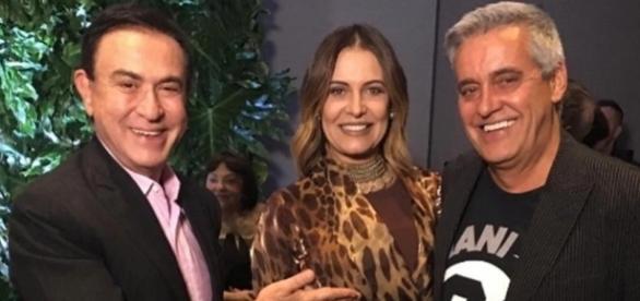 Amaury Jr anuncia que Mauro e Patrícia Naves resgataram o casamento