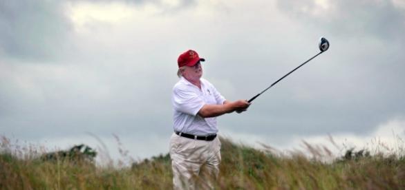 Here's how President Donald Trump stays fit. [Image via CNN/CNN.com]