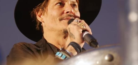 "Johnny Depp at Glastonbury 2017: ""When was the last time an actor assassinated a president?