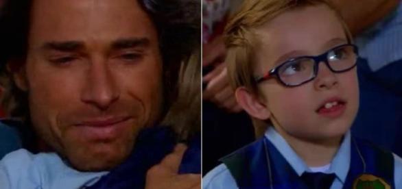 Alessandro diz que jamais deixará seu filho novamente