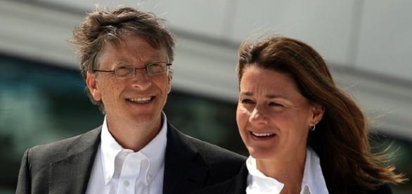 : Bill and Melinda Gates | Image credit Kjetil Ree| wikimedia CC BY-SA 3.0