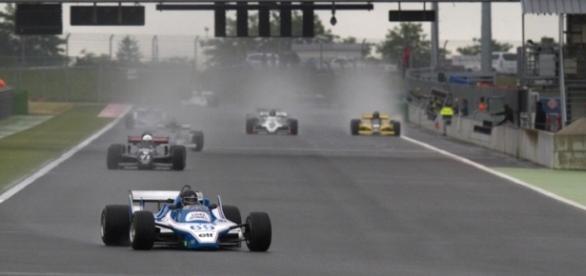 Départ de la course de Formule 1