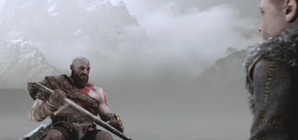 """""""God of War 4"""" is slated to hit PlayStation 4 in early 2018. [Image via YouTube/PlayStation]"""