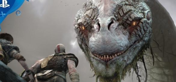"""God of War 4"" takes Kratos and his son on a strange land somewhere in the Norse mythology (via YouTube/PlayStation)"