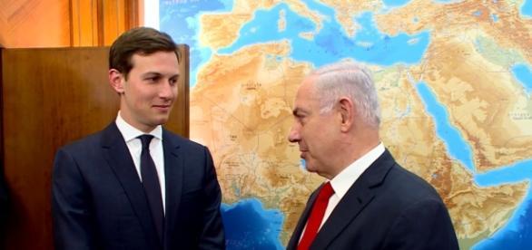 Kushner's meeting with Netanyahu. Photo via IsraeliPM, YouTube.