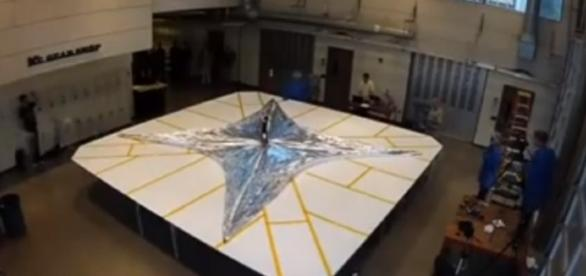 Solar sail ready | # for deployment test| TechnoGT | Youtube