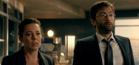 BBC airs the final season of 'Broadchurch'/Photo via screengrab