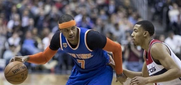 Carmelo Anthony could be headed to Clevelanded - Keith Allison via Flickr