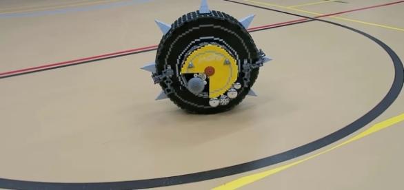 Junkrat's RIP-tire from 'Overwatch' - YouTube/ZaziNombies LEGO Creations