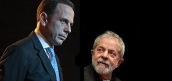 Prefeito de São Paulo, João Doria reclamou da ingerência dos petistas Lula e Dilma Rousseff, em Expertxp 2017.