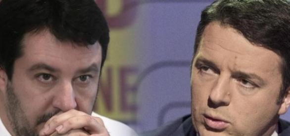 Renzi e Salvini danno due versioni completamente opposte dei risultati delle elezioni Comunali