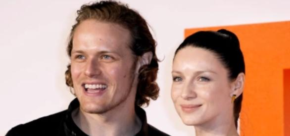 "Sam Heugha and Caitriona Balfe revealed details about their love scenes in ""Outlander"" Season 3. Photo by CM/YouTube Screenshot"